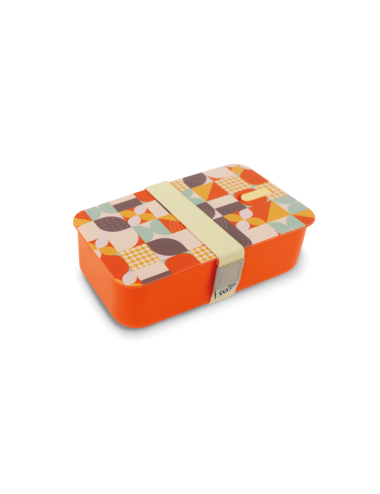 Lunch box decorata Arancio...